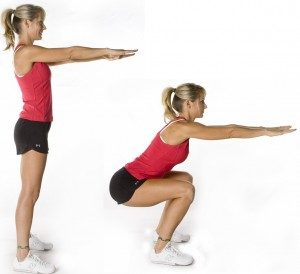 1 Doing Squat Exercises To Get A Tighter Vagina